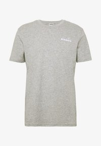 Diadora - CORE - Basic T-shirt - light middle grey melange - 3