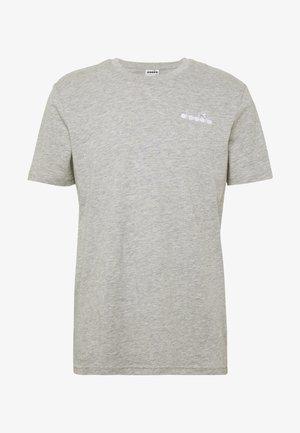T-shirt - bas - light middle grey melange