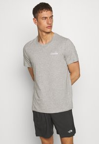 Diadora - CORE - Basic T-shirt - light middle grey melange - 0