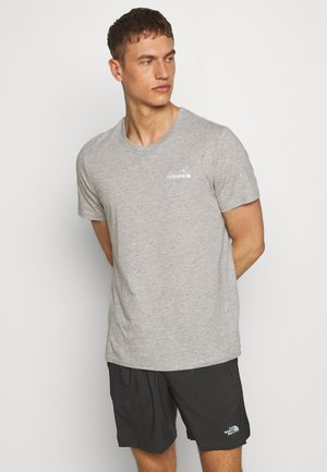 CORE - Basic T-shirt - light middle grey melange
