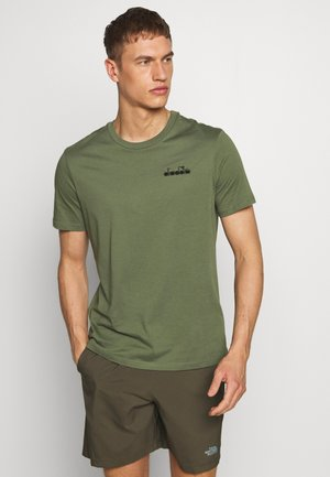 CORE - Basic T-shirt - green mushroom