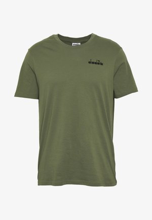 CORE - T-Shirt basic - green mushroom