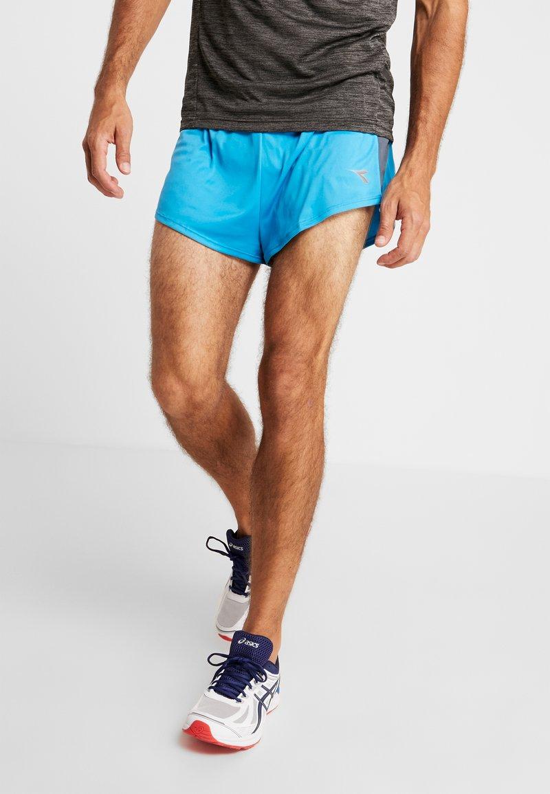 Diadora - RACE  TEAM - Pantalón corto de deporte - blue fluo