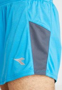 Diadora - RACE  TEAM - Pantalón corto de deporte - blue fluo - 4