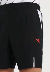 Diadora - BERMUDA MICRO - Korte sportsbukser - black - 3