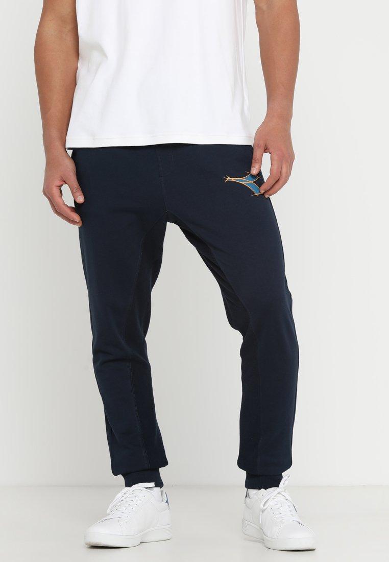 Diadora - CUFF PANTS FREGIO - Jogginghose - blue corsair