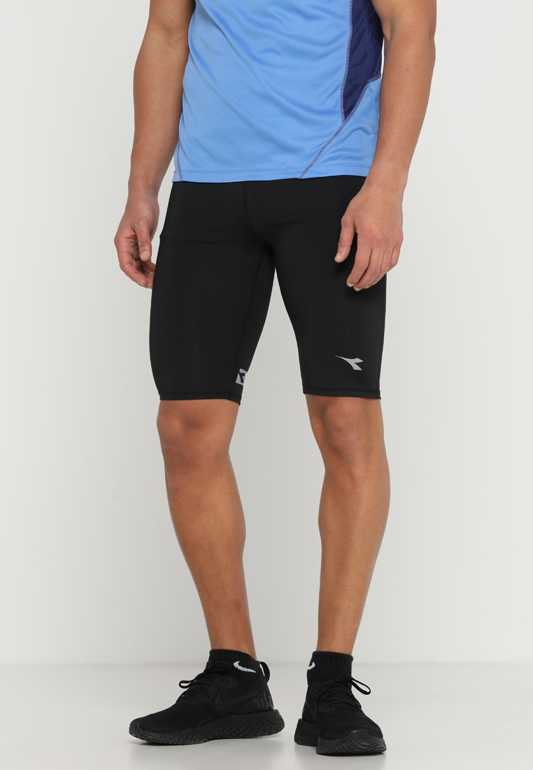 Diadora - SHORT TIGHTS - Legging - black