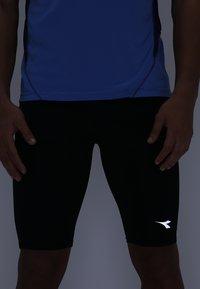 Diadora - SHORT TIGHTS - Collant - black - 5