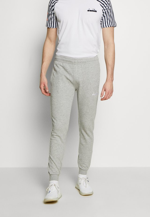 CUFF PANTS CORE - Träningsbyxor - light middle grey melange