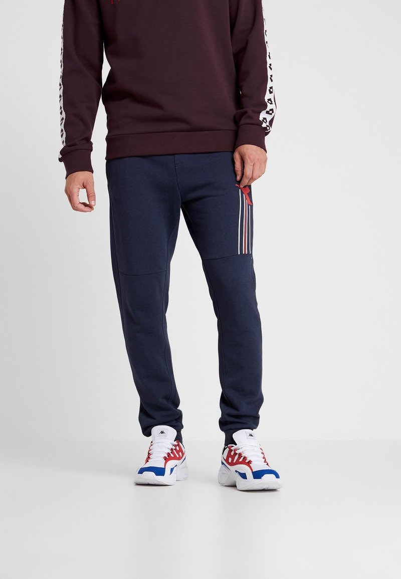 Diadora - CUFF PANTS FREGIO - Tracksuit bottoms - blue corsair