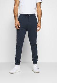 Diadora - PANTS LOGO - Pantaloni sportivi - blue corsair - 0