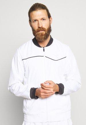 JACKET COURT - Sportovní bunda - optical white
