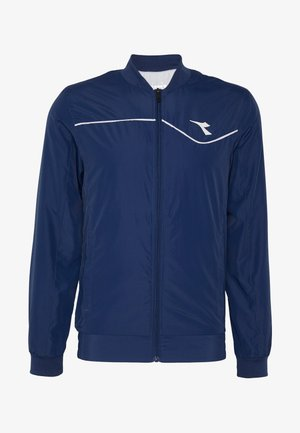 JACKET COURT - Training jacket - saltire navy
