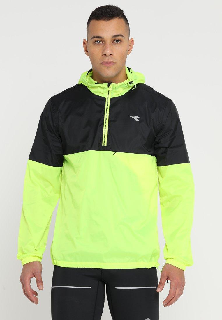 Diadora - X RUN JACKET - Sports jacket - fluo yellow