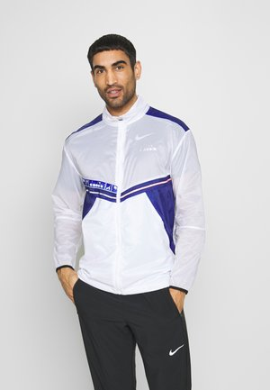 LIGHTWEIGHT WIND JACKET BE ONE - Laufjacke - optical white