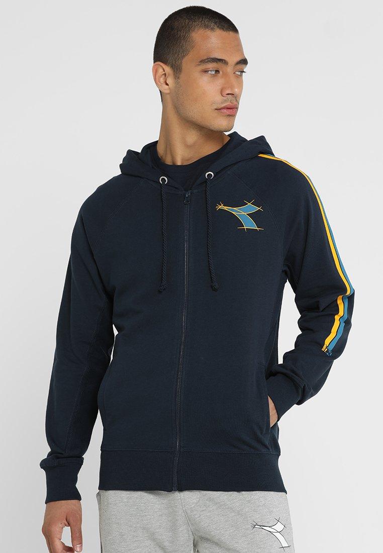 Diadora - FREGIO - Zip-up hoodie - blue corsair