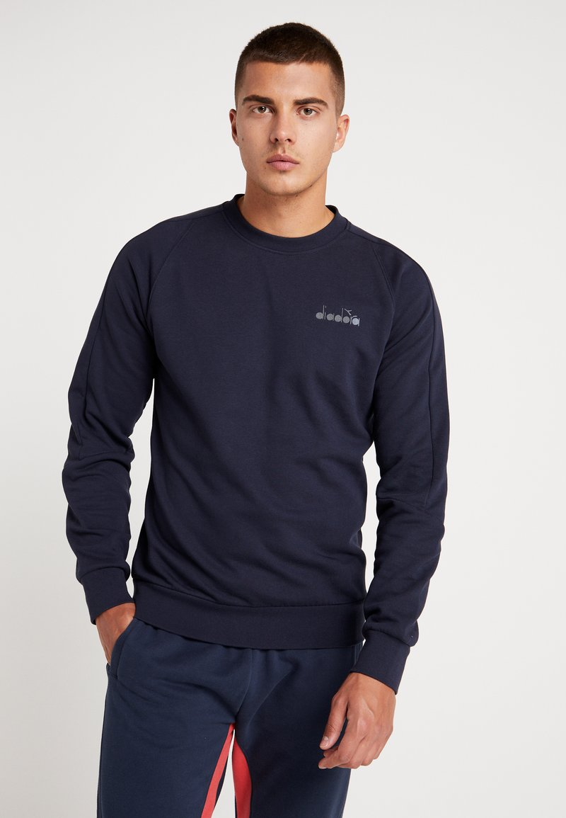 Diadora - CREWNECK CHROMIA - Sweatshirt - blue corsair
