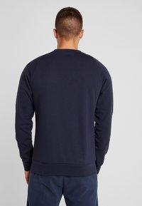 Diadora - CREWNECK CHROMIA - Sweatshirt - blue corsair - 2