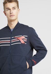 Diadora - FREGIO - Zip-up hoodie - blue corsair - 3