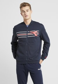Diadora - FREGIO - Zip-up hoodie - blue corsair - 0