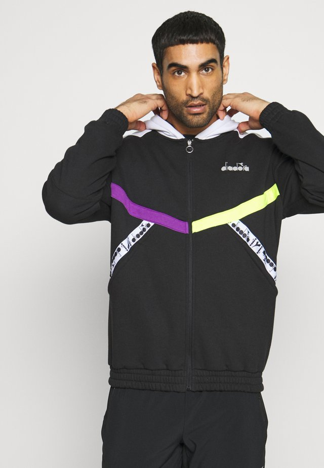 BE ONE - veste en sweat zippée - black