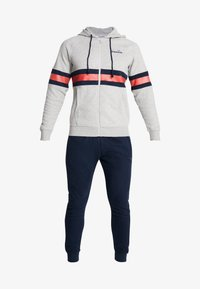 Diadora - SUIT CORE - Tracksuit - light middle grey melange - 6