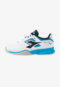 Diadora - CHALLENGE 2 YOUTH CARPET - Tennisschoenen voor tapijtbanen - white - 1
