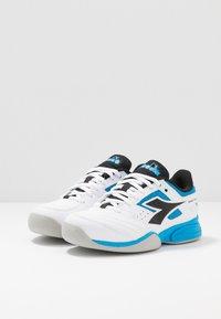 Diadora - CHALLENGE 2 YOUTH CARPET - Tennisschoenen voor tapijtbanen - white - 3