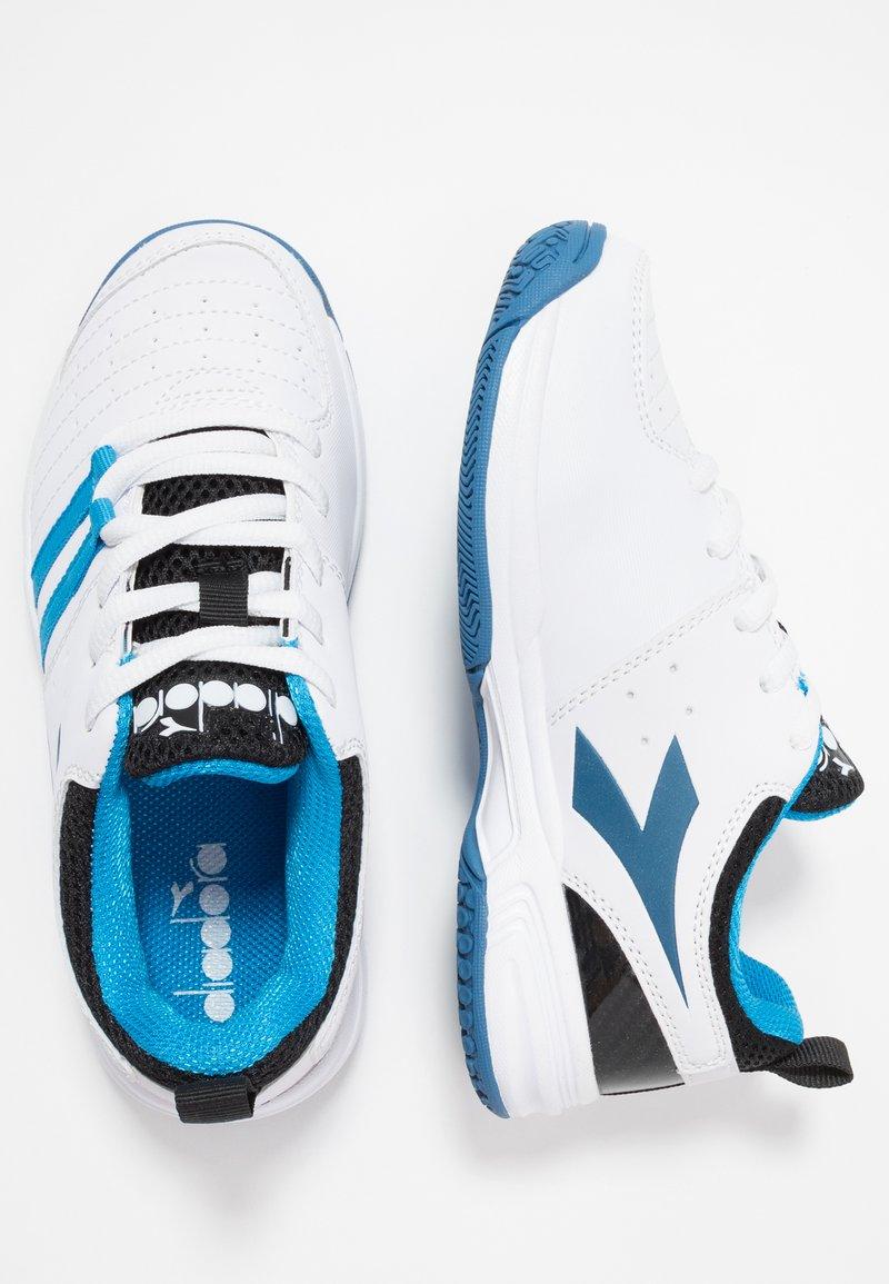 Diadora - S. FLY 2 - Multicourt tennis shoes - white/deep water