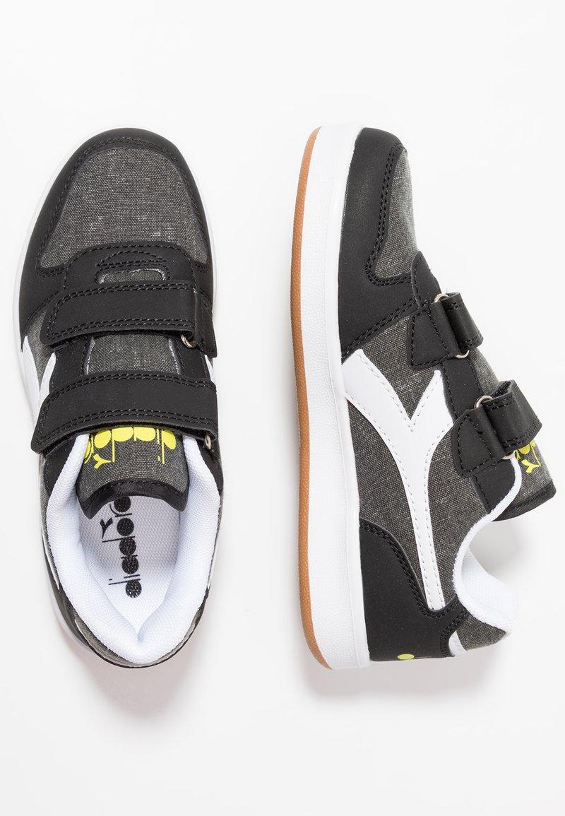 Diadora - PLAYGROUND - Sports shoes - black/white
