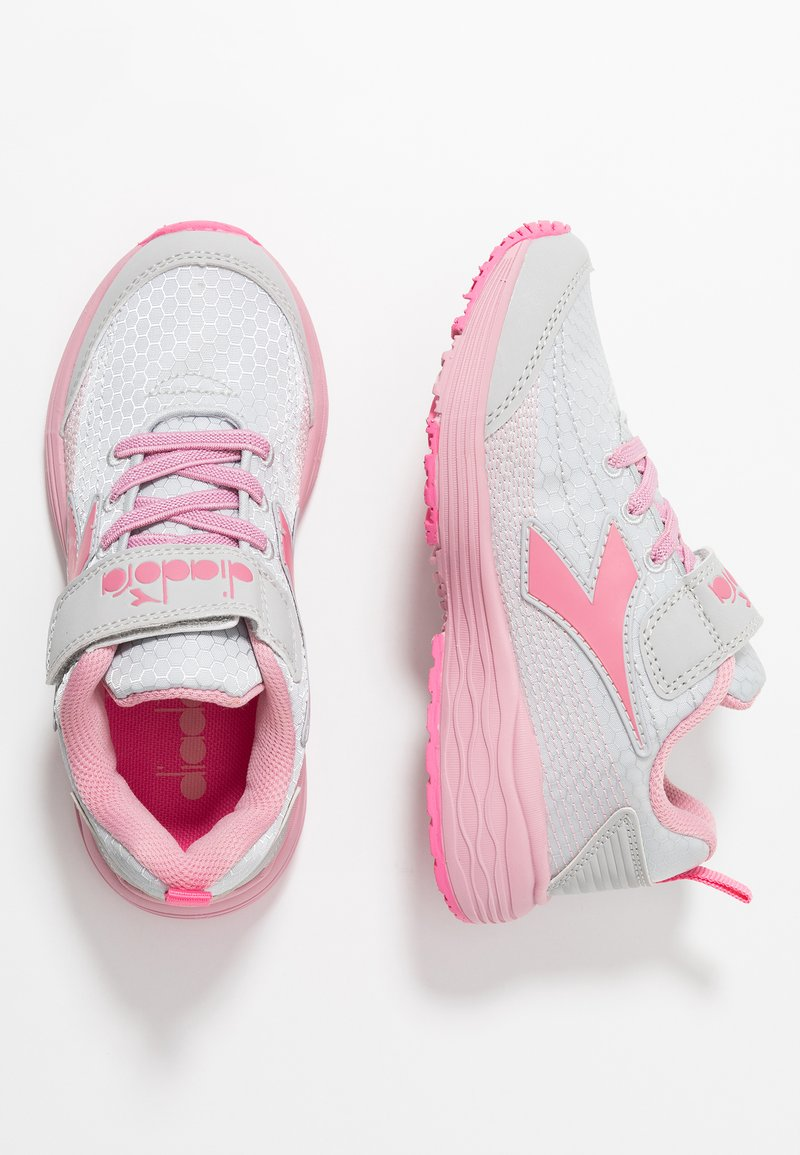 Diadora - FLAMINGO 4 - Neutrale løbesko - vapor blue/hot pink