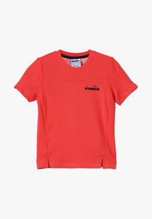Jednoduché triko - ferrari red