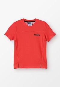Diadora - T-shirt basic - ferrari red - 0