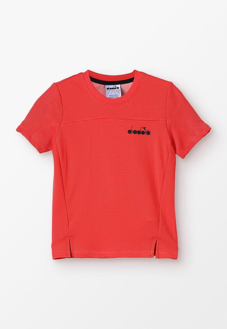 Diadora - T-shirt basic - ferrari red
