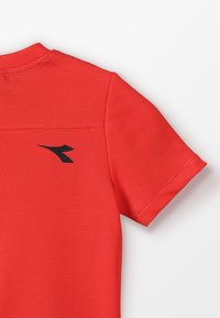 Diadora - T-shirt basic - ferrari red - 4
