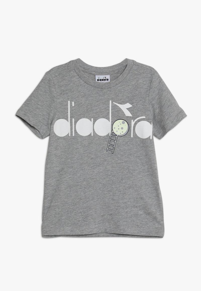 Diadora - PALLE GLOW IN THE DARK - T-shirt con stampa - light middle grey melange