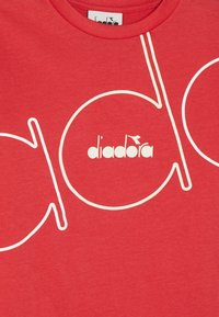 Diadora - PALLE - T-shirt à manches longues - dark red