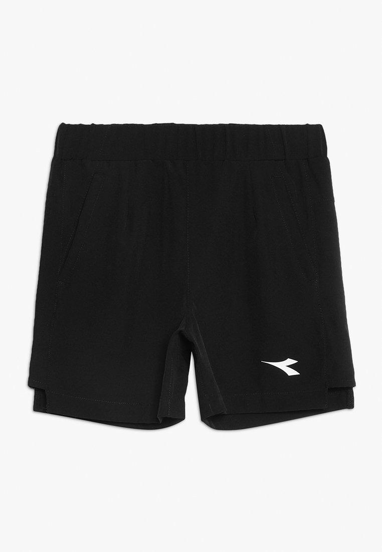 Diadora - Korte sportsbukser - black