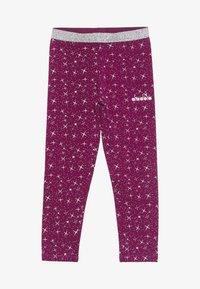 Diadora - LEGGINGS PALLE - Collant - violet boysenberry - 2