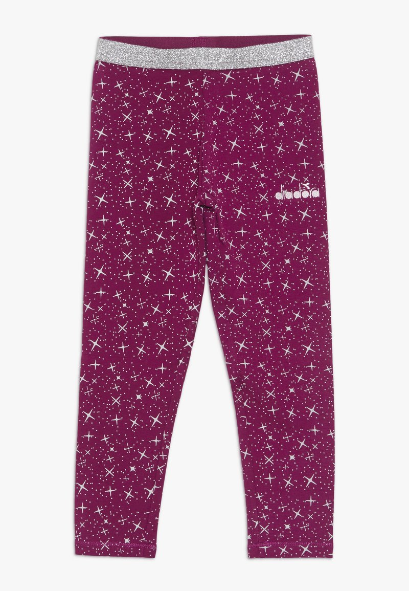 Diadora - LEGGINGS PALLE - Collant - violet boysenberry