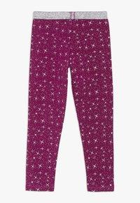 Diadora - LEGGINGS PALLE - Collant - violet boysenberry - 1