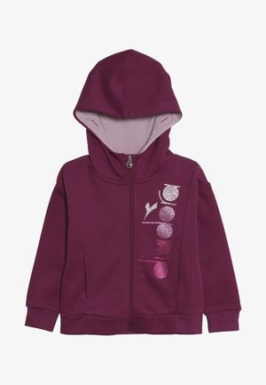 veste en sweat zippée - violet boysenberry