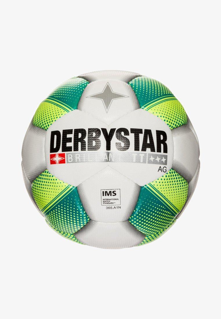 Derbystar - Football - white/yellow/petrol