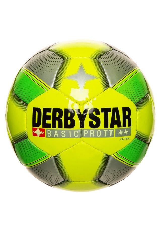 BASIC PRO TT FUTSAL FUSSBALL - Football - gelb / gruen / silber