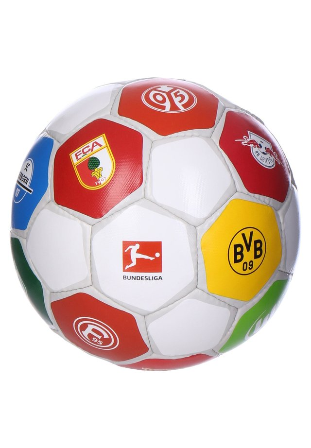 BUNDESLIGA CLUBLOGO PRO FUSSBALL - Football - weiss / grau