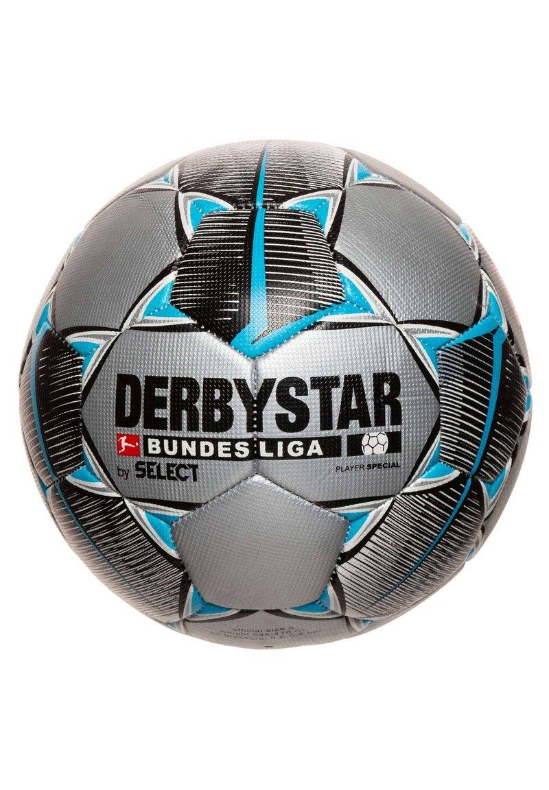 Derbystar - PLAYER BUNDESLIGA FUSSBALL - Football - silber / schwarz / weiß