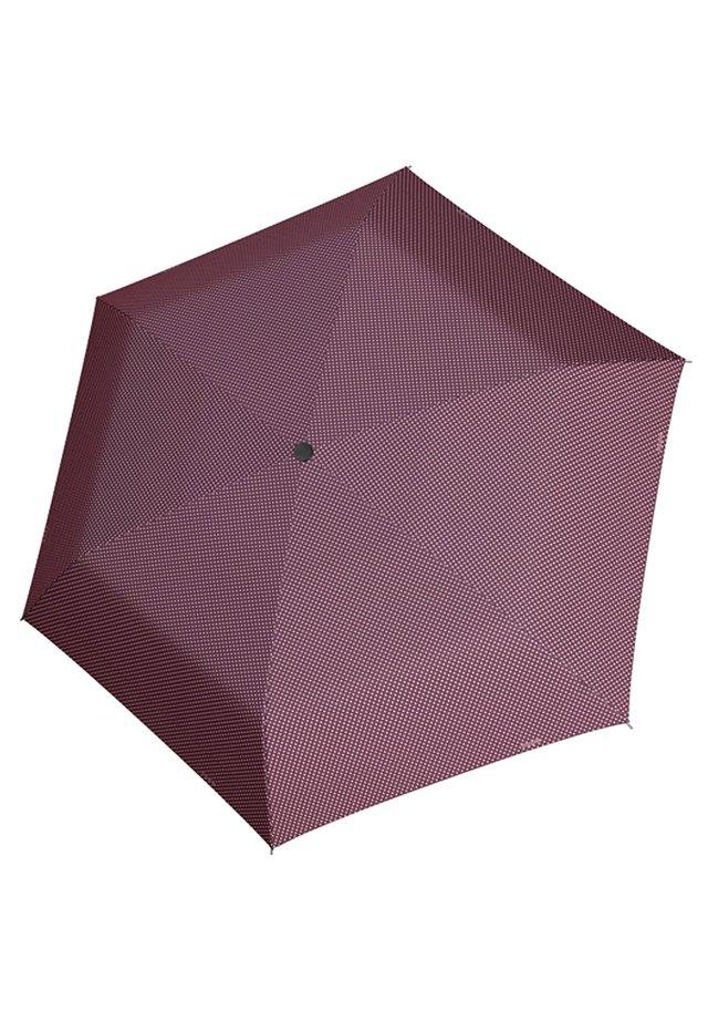 DOPPLER TASCHENSCHIRM MINI SLIM CHIC MANUAL CARBONSTEEL POLYESTE - Umbrella - chic [01]