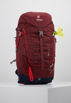 TRAIL 20 SL - Backpack - maron/navy
