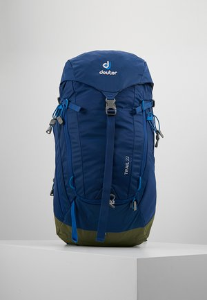 TRAIL 22 - Backpack - steel/khaki