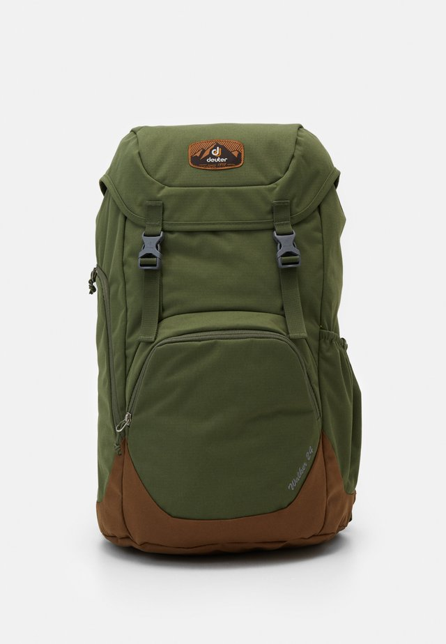 WALKER  - Hiking rucksack - khaki/lion